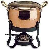 Ruffoni Набор для фондю (1.6 л), 12 см, 4 пр., медь/черная сталь
