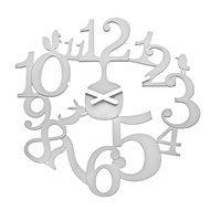 Koziol Часы настенные Pi:p, 45.5 см, белые