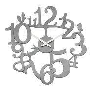 Koziol Часы настенные Pi:p, 45.5 см, серые