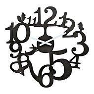 Koziol Часы настенные Pi:p, 45.5 см, черные