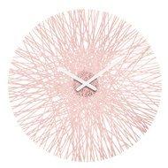 Koziol Часы настенные Silk, 45 см, розовые