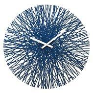 Koziol Часы настенные Silk, 45 см, синие