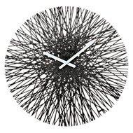 Koziol Часы настенные Silk, 45 см, черные