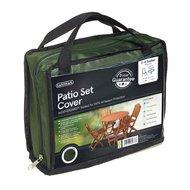Gardman Чехол для садовой мебели 2-4 Seater Round Patio, зеленый