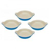 Le Creuset Набор тарелок для крем-брюле, 11 см, 4 шт, марсель (91017316310000)