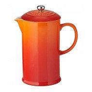 Le Creuset Кофейник с прессом (1 л), оранжевая лава (91028200090000)
