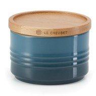 Le Creuset Банка с деревянной крышкой (0.34 л), лазурь (91044400642099)