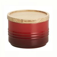 Le Creuset Банка для хранения (0.34 л), 10х7.5 см, красная