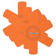 Le Creuset Комплект подставок для кастрюль, оранжевый, 3 пр. (95003440090300)