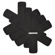Le Creuset Комплект подставок для кастрюль, черный, 3 пр. (95003440140300)