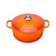 Le Creuset Кастрюля круглая для запекания (1.8 л), 18 см, оранжевая лава (21177180902430)