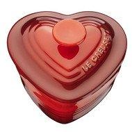 Le Creuset Рамекин Сердце с крышкой (0.25 л), вишневый (91003100060070)