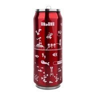 Ibili Термокружка Жестяная банка Termos (500 мл), красная