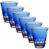 Ajka Crystal Набор стаканов низких Heaven Blue (300 мл), голубых, 6 шт