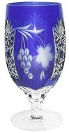 Ajka Crystal Фужер Grape (450 мл), синий