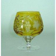 Ajka Crystal Фужер для коньяка Grape (300 мл), янтарный