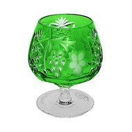 Ajka Crystal Фужер для коньяка Grape (300 мл), темно-зеленый