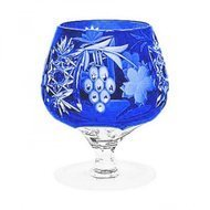 Ajka Crystal Фужер для коньяка Grape (300 мл), синий