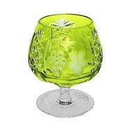 Ajka Crystal Фужер для коньяка Grape (300 мл), светло-зеленый