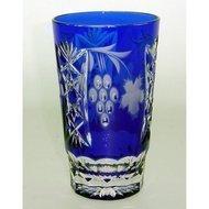 Ajka Crystal Стакан высокий Grape (390 мл), синий