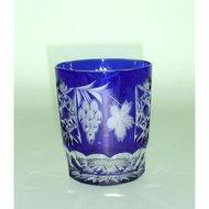 Ajka Crystal Стакан низкий Grape (390 мл), синий