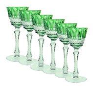 Ajka Crystal Набор фужеров для вина St. Louis (220 мл), зеленых, 6 шт