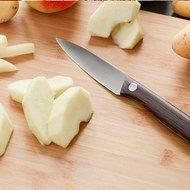 BergHOFF Нож для очистки, 8.5 см, рукоять из темного дерева