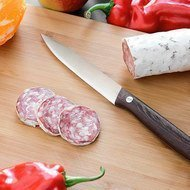 BergHOFF Универсальный нож, 12 см, рукоять из темного дерева