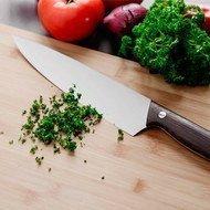 BergHOFF Поварской нож, 20 см, рукоять из темного дерева