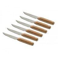 BergHOFF Набор ножей для стейка, 6 шт., деревянная рукоять