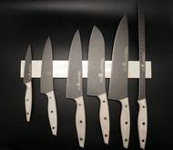 Martinez&Gascon Набор ножей Mikarta white, на магните, 7 пр