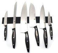Martinez&Gascon Набор ножей Nova black, на магните, 7 пр