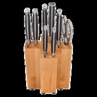 Swiss Diamond Набор ножей из 10 предметов в блоке, деревянная подставка