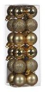 Triumph Nord Набор декоративных шаров, 3 см, золото, 24 шт.