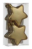 Triumph Nord Набор декоративный Звезда, 6.5 см, золото, 6 шт.