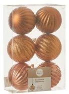 Triumph Nord Набор декоративных шаров, 7 см, коричневый, 6 шт.