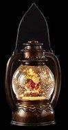 Triumph Nord Старинный фонарь декоративный Санта, 14х11х19.7 см, мультиколор, коричневый