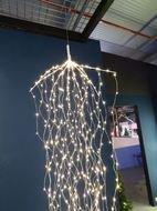 Luca lights Гирлянда декоративная Комета, теплый свет, 768 лампочек, 220 см