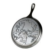 Lodge Сковорода круглая блинная Moose Logo - Лого Лось, 26 см