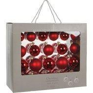 Triumph Nord Набор шаров, 7 см, красный, 42 шт, в коробке
