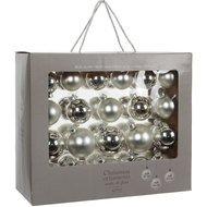 Triumph Nord Набор шаров, 7 см, серебро, 42 шт, в коробке