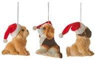 Triumph Nord Подвеска декоративная Собака, 10х7х11.5 см, коричневая, 3 вида