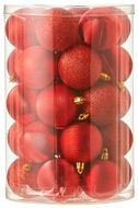 Triumph Nord Набор шаров, 6 см, 34 шт, красный