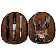 Mertz Manicure Маникюрный набор, 5 пр., футляр коричневый