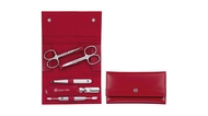 Zwilling Маникюрный набор Manicure Twinox, Inox, 5 пр., красный