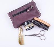 Dr.Dittmar Мужской набор для стайлинга бороды и усов Dr.Dittmar, 4 пр., в чехле из натуральной кожи, B5006