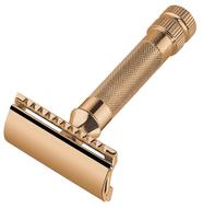 Merkur Станок Т-образный для бритья, золотистый, 7.3 см