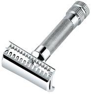 Merkur Станок Т-образный для бритья, косой срез, 8.2 см, хром
