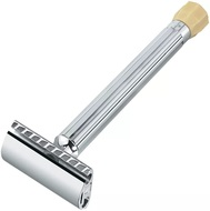 Merkur Станок Т-образный для бритья, с удлиненной ручкой, 10.5 см, хром