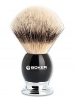Boker Помазок для бритья Premium Black, ворс барсука, 10.5 см
